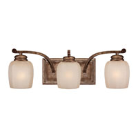 Minka-Lavery Cornerstone 3 Light Bath in Pierre Patina 5473-562