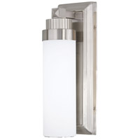 Minka-Lavery Brushed Nickel Glass Wall Sconces