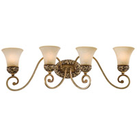Minka-Lavery Jessica McClintock Home Salon Grand 4 Light Bath in Florence Patina 5554-477