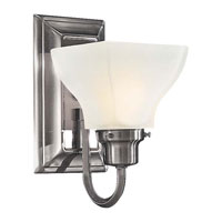 Minka-Lavery 5581-84 Mission Ridge 1 Light 5 inch Nickel & Silver Bath Wall Light  photo thumbnail