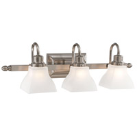 Mission Ridge 3 Light 26 inch Brushed Nickel Bath Bar Wall Light