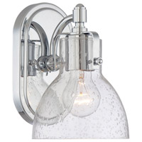 Minka-Lavery Signature 1 Light Bath Vanity Light in Chrome 5721-77