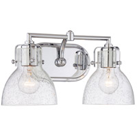 Minka-Lavery Signature 2 Light Vanity Light in Chrome 5722-77