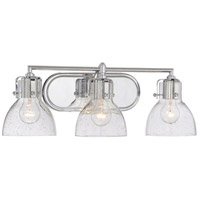 Minka-Lavery Signature 3 Light Vanity Light in Chrome 5723-77