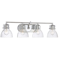 Minka-Lavery 5724-77 Signature 4 Light 32 inch Chrome Bath Light Wall Light