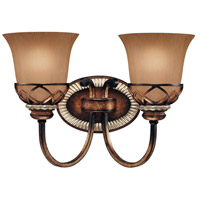 Aston Court 2 Light 15 inch Aston Court Bronze Bath Bar Wall Light