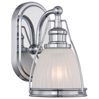Minka-Lavery 5791-77 Signature 1 Light 17 inch Chrome Bath Light Wall Light