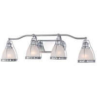 Signature 4 Light 33 inch Chrome Bath Bar Wall Light