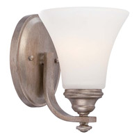 Minka-Lavery Wellington Ave 1 Light Bath Vanity Light in Midnight Gold 5861-279