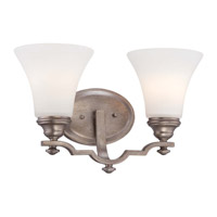 Wellington Ave 2 Light 15 inch Midnight Gold Vanity Light Wall Light