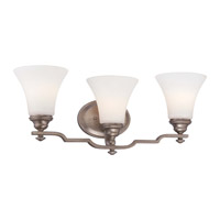 Wellington Ave 3 Light 23 inch Midnight Gold Vanity Light Wall Light
