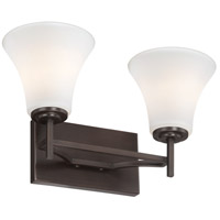 Minka-Lavery 5932-281 Middlebrook 2 Light 15 inch Harvard Court Bronze Plated Bath-Bar Lite Wall Light