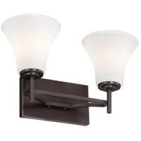 Minka-Lavery 5932-284 Middlebrook 2 Light 15 inch Vintage Bronze Bath Bar Wall Light