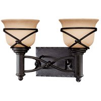 Minka-Lavery Aspen II 2 Light Bath in Aspen Bronze 5972-1-138