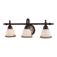 Minka Lavery Piastrella Bath 3 Light Bath Light in Oil Rubbed Bronze 6053-143