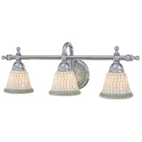Piastrella 3 Light 25 inch Chrome Bath Wall Light
