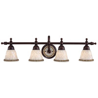 Minka Lavery Piastrella Bath 4 Light Bath Light in Oil Rubbed Bronze 6054-143