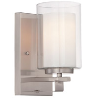 Minka-Lavery 6101-84 Parsons Studio 1 Light 13 inch Brushed Nickel Bath Bar Wall Light