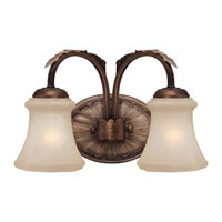 Minka-Lavery Candlewood 2 Light Bath in Rustique Patina 6122-563