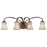 Minka-Lavery Candlewood 4 Light Bath in Rustique Patina 6124-563
