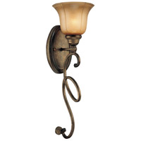 Minka-Lavery La Cecilia 1 Light Sconce in Patina Iron 6141-573