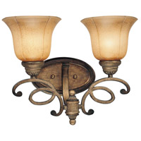 Minka-Lavery La Cecilia 2 Light Bath in Patina Iron 6142-573