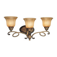 Minka-Lavery 6143-573 La Cecilia 3 Light 25 inch Patina Iron Bath Wall Light photo thumbnail