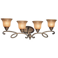Minka-Lavery 6144-573 La Cecilia 4 Light 34 inch Patina Iron Bath Wall Light photo thumbnail