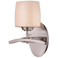 Minka-Lavery Signature 1 Light Bath in Brushed Nickel 6181-84