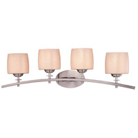Minka-Lavery Raiden 4 Light Bath in Brushed Nickel 6184-84