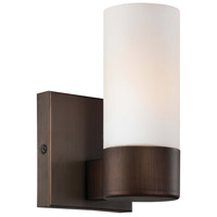 Minka-Lavery Signature 1 Light Sconce in Copper Bronze Patina 6211-647
