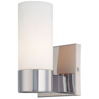 Signature 1 Light 5 inch Chrome Wall Sconce Wall Light
