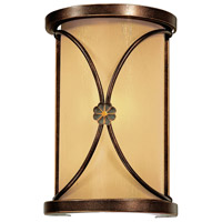 Minka-Lavery Atterbury 1 Light Sconce in Deep Flax Bronze 6230-288
