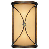 Minka-Lavery Atterbury 2 Light Sconce in Deep Flax Bronze 6231-288