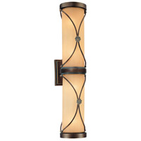 Atterbury 4 Light 23 inch Deep Flax Bronze Bath Bar Wall Light