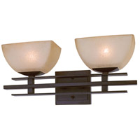 Minka-Lavery Lineage 2 Light Bath in Iron Oxide 6272-357