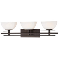 Minka-Lavery Lineage 3 Light Bath in Smoked Iron 6273-172