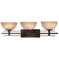 Minka-Lavery Lineage 3 Light Bath in Iron Oxide 6273-357