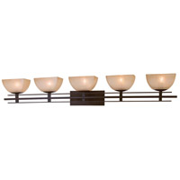 Minka-Lavery Lineage 5 Light Bath in Iron Oxide 6275-357