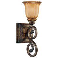 Minka-Lavery 6331-561 Brompton 1 Light 6 inch Brompton Bronze Bath Sconce Wall Light photo thumbnail