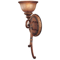Minka-Lavery Hearst Castle Illuminati 1 Light Sconce in Illuminati Bronze 6350-177