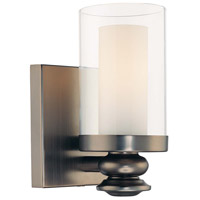 Harvard Court 1 Light 5 inch Harvard Court Bronze Plated Bath Sconce Wall Light