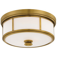 Liberty Gold Glass Flush Mounts