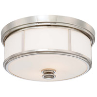 Minka-Lavery 6369-613 Signature 5 Light 20 inch Polished Nickel Flush Mount Ceiling Light