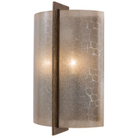 Clarte 2 Light 9 inch Patina Iron ADA Wall Sconce Wall Light