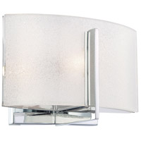 Minka-Lavery 6391-77 Clarte 1 Light 8 inch Chrome Bath Bar Wall Light