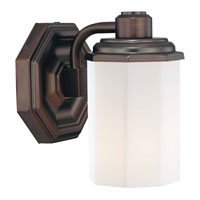 Minka-Lavery Falstone 1 Light Bath in Dark Brushed Bronze 6421-267