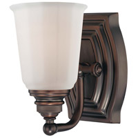 Minka-Lavery Clairemont 1 Light Bath in Dark Brushed Bronze 6451-267