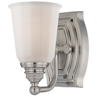 Minka-Lavery Clairemont 1 Light Bath in Brushed Nickel 6451-84