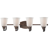 Minka-Lavery Clairemont 4 Light Bath in Dark Brushed Bronze 6454-267